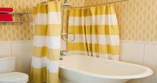 صوره ستائر حمامات , جدد حمامك بستارة بالوان رائعه