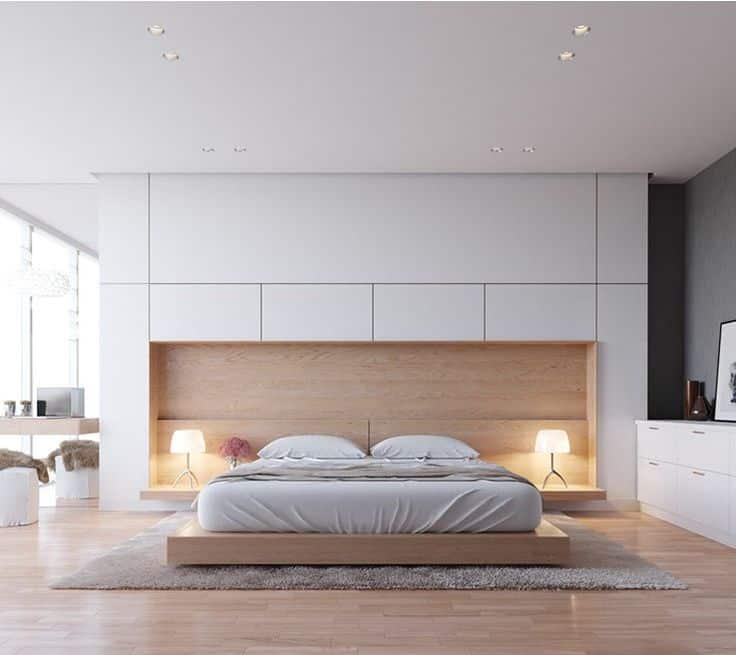 صورة غرف نوم مودرن 2019 كامله , احدث اشكال غرف النوم