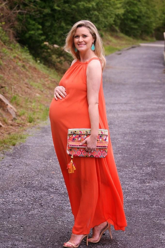 بالصور صور فساتين للحوامل , صور اجمل المودلات للمراه الحامل 491 2