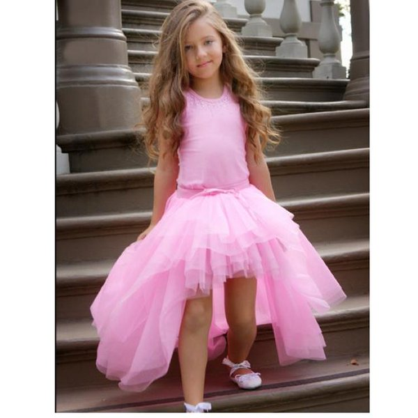 صورة فساتين سواريه اطفال , احدث موديلات الفساتين السواريه