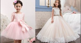 صوره فساتين سواريه اطفال , احدث موديلات الفساتين السواريه