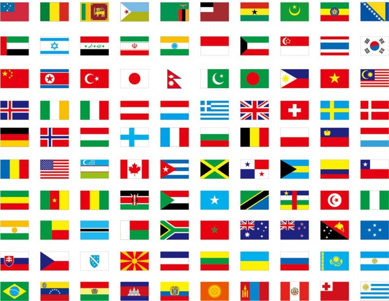 اعلام الدول في ببجي