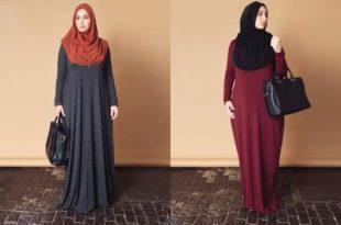 صوره ملابس للحوامل المحجبات , كيفيه اختيار ملبس للحامل مناسب لكى
