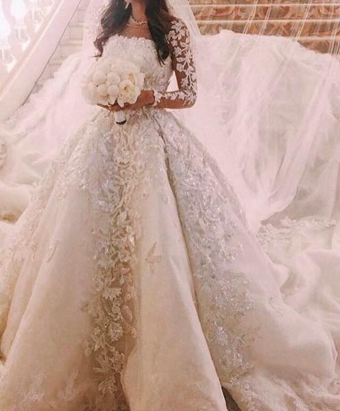 ca5913d35 فساتين عرايس فخمه , افضل تشكيله لفستان الزفاف - عيون الرومانسية