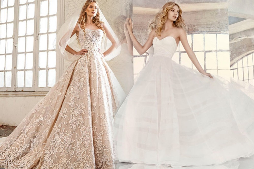 afda77736 فساتين اعراس فخمه , صوره فستان زفاف مميز وجديد - عيون الرومانسية
