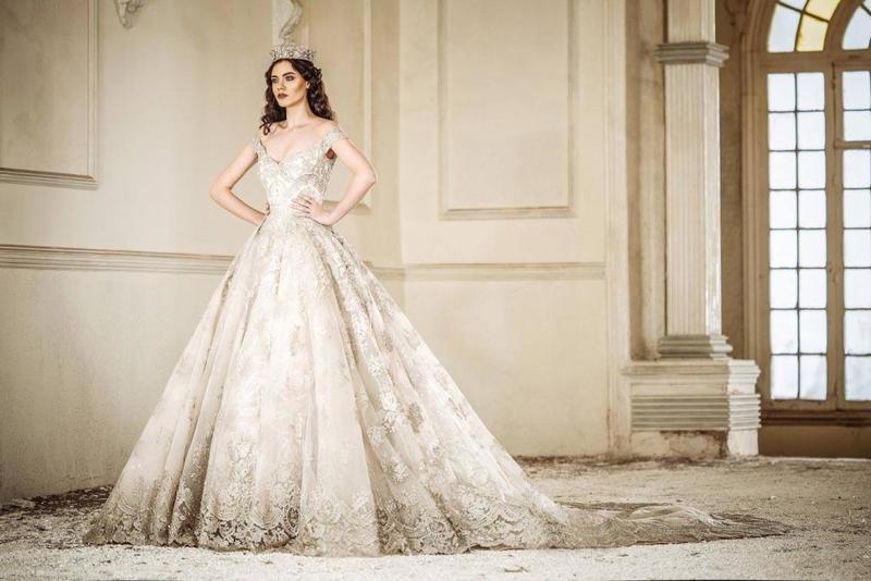 a653960cb فساتين اعراس فخمه , صوره فستان زفاف مميز وجديد - عيون الرومانسية