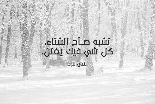 صوره عبارات عن الشتاء , اجمل الكلمات عن امطار الشتاء