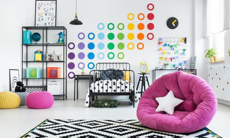 ديكورات غرف اطفال اشكال رائعه لتغير ديكور غرفه الاطفال عيون