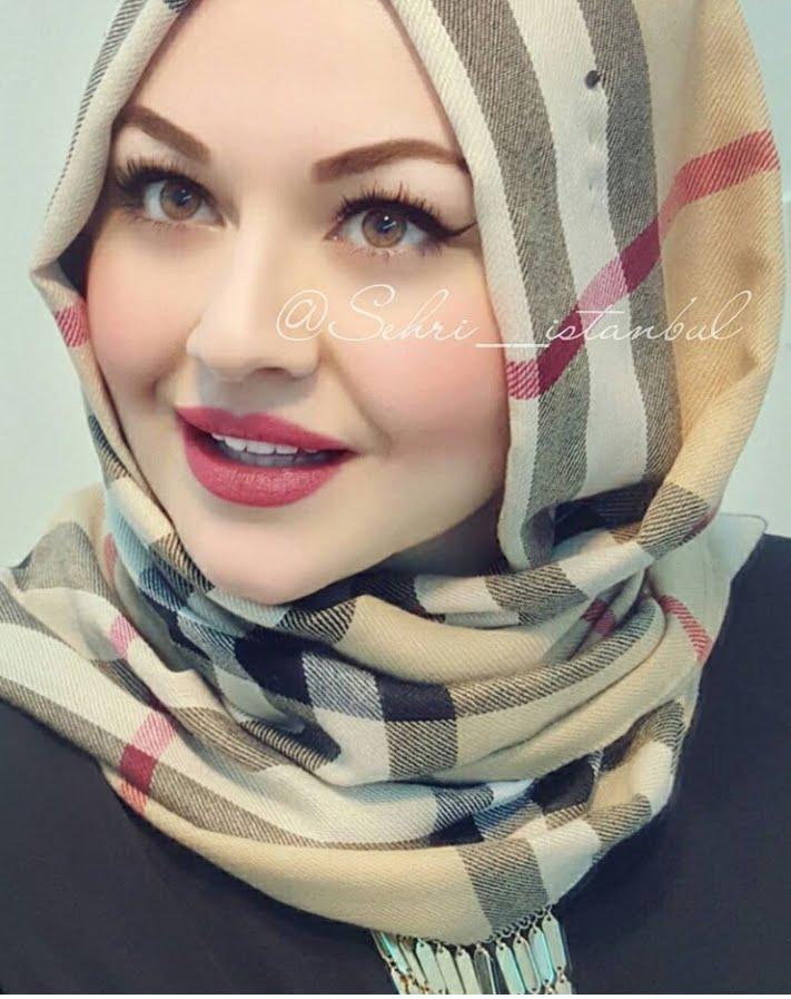 بالصور حجاب فاشون , اجمل لفات الطرح روعه 767 1
