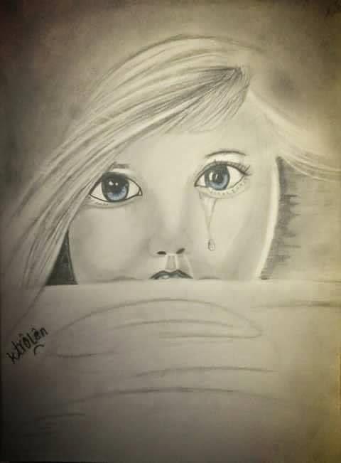 بالصور طفلة تبكي , صور اطفال حزينه مؤثره 781 12