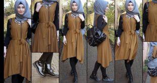 صورة موضة 2019 للمحجبات , احلى المودلات للملابس المحجبات