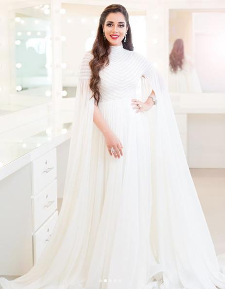 بالصور فساتين اعراس للحوامل , اجمل الفساتين السوراية للحوامل 842 1