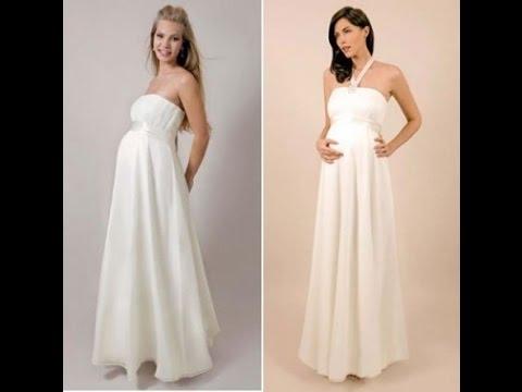 بالصور فساتين اعراس للحوامل , اجمل الفساتين السوراية للحوامل 842 2
