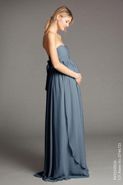 بالصور فساتين اعراس للحوامل , اجمل الفساتين السوراية للحوامل 842 7