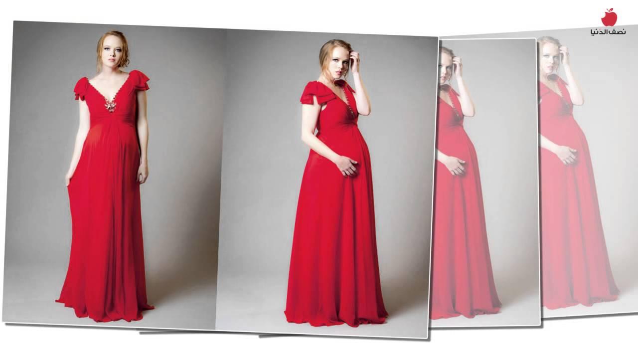 صور فساتين اعراس للحوامل , اجمل الفساتين السوراية للحوامل