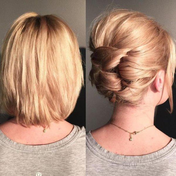 صورة تسريحات للشعر القصير , احدث الصيحات فى تسريحات الشعر القصير
