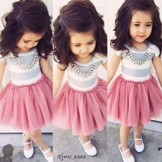 314173bc3 ملابس اطفال بنات , اجمل المودلات الخاصه باللبس الاطفال - عيون الرومانسية