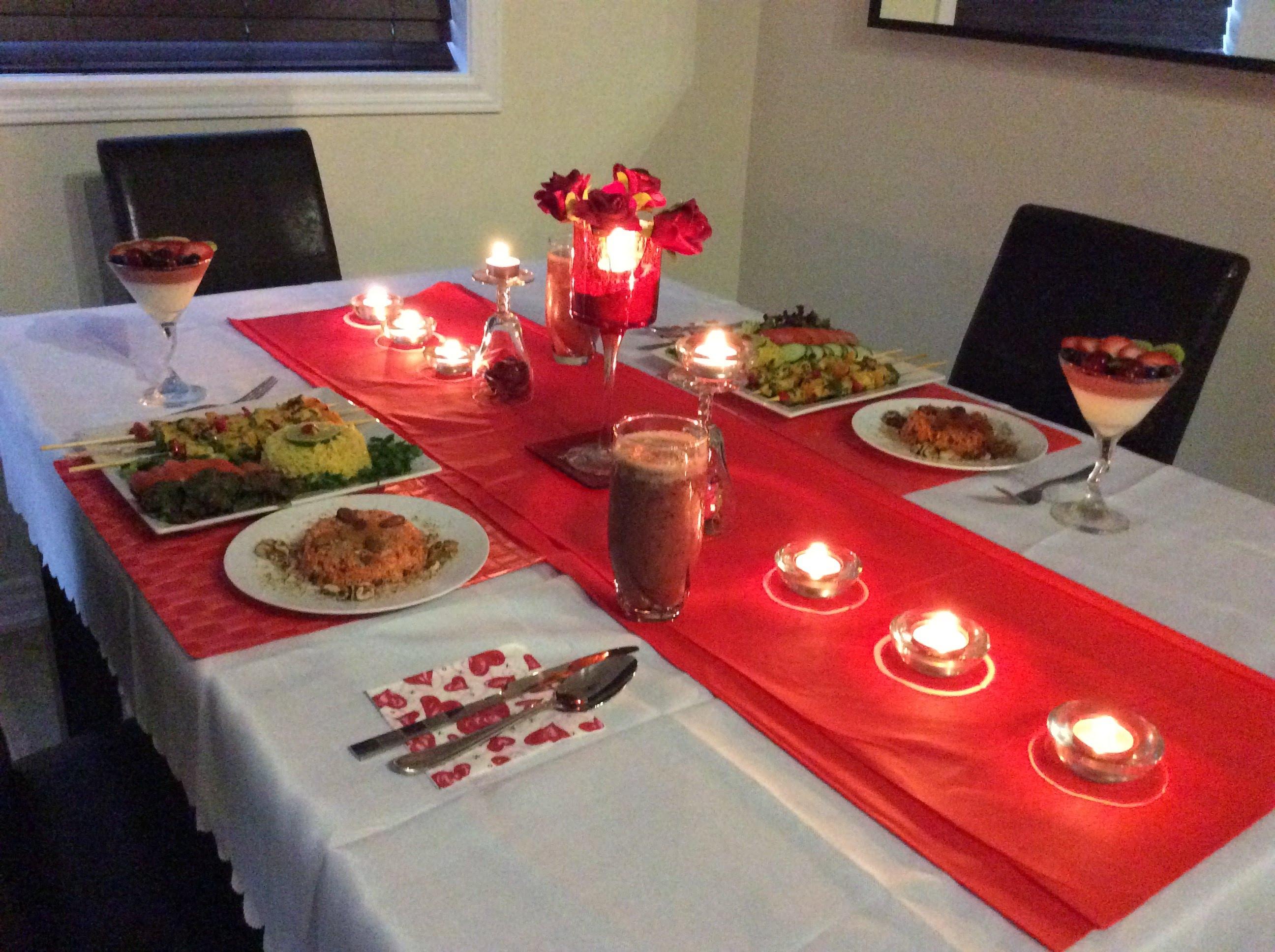 صور عشاء رومانسي في البيت , اجمل الصور معبرة عن عشا رومنسى