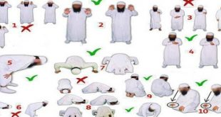 صوره الطريقة الصحيحة للصلاة , كيفيه الصلاة الصحيحة