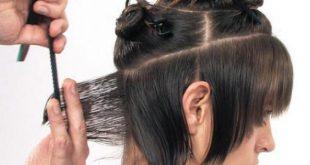 صوره كيفية قص الشعر , طريق قص الشعر فى المنزل
