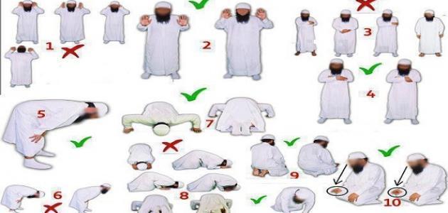 بالصور كيفية الصلاة الصحيحة بالصور للنساء , طريقه الصلاة الصحيحه بالصور 978 6