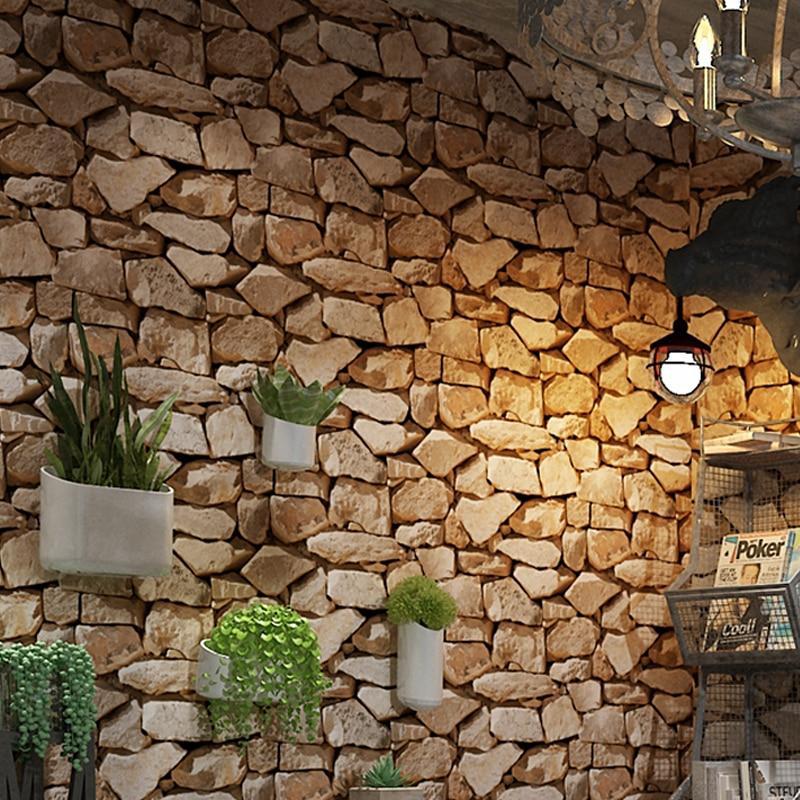 بالصور ورق جدران حجر , روعه الاختيار من افخم ورق حوائط شكل احجار 1282 11