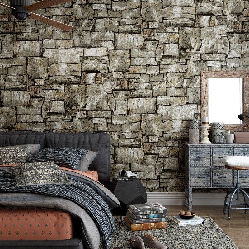 بالصور ورق جدران حجر , روعه الاختيار من افخم ورق حوائط شكل احجار 1282 8