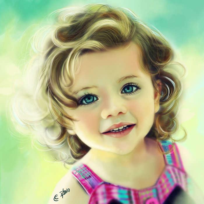 بالصور صور بنات بتضحك , اجمل صور دلع وضحك بنات صغيرة 1409 10