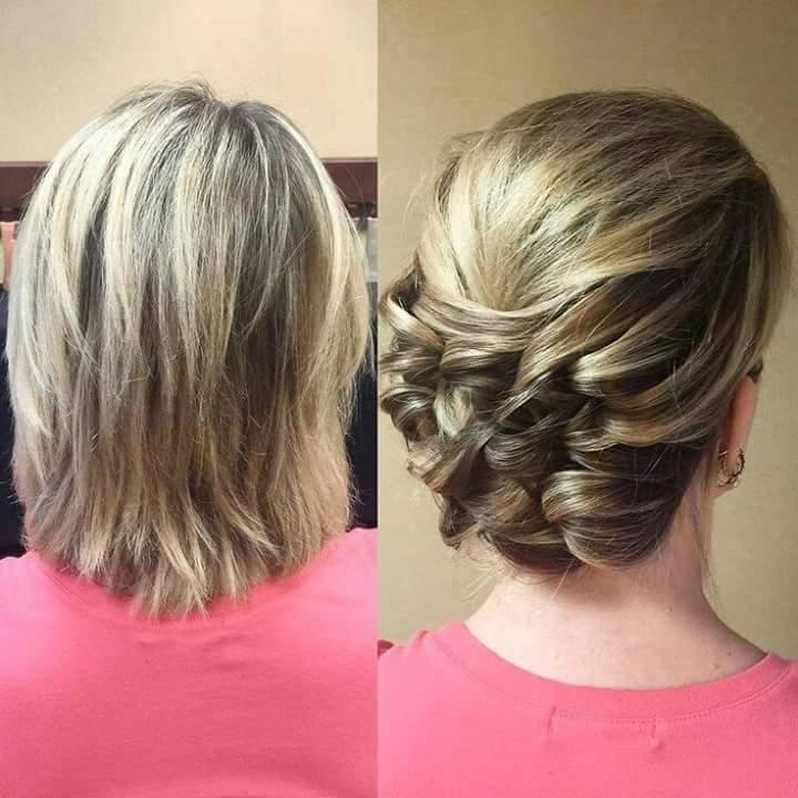 بالصور اجمل تسريحات الشعر القصير , اجمل تسريحات لكل مراة ذات شعر قصير 1410 4