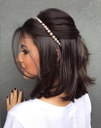 بالصور اجمل تسريحات الشعر القصير , اجمل تسريحات لكل مراة ذات شعر قصير 1410 5