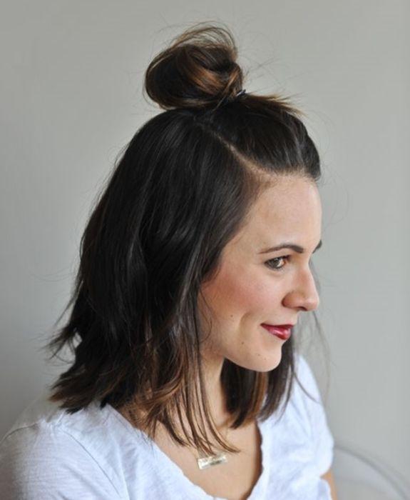 بالصور اجمل تسريحات الشعر القصير , اجمل تسريحات لكل مراة ذات شعر قصير 1410 7