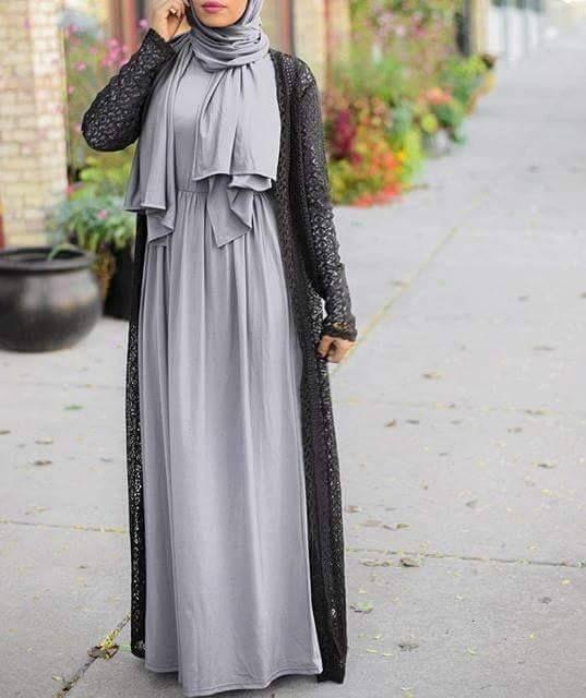 بالصور صور موضه , اجمل ملابس محجبات على الموضة 1448 11