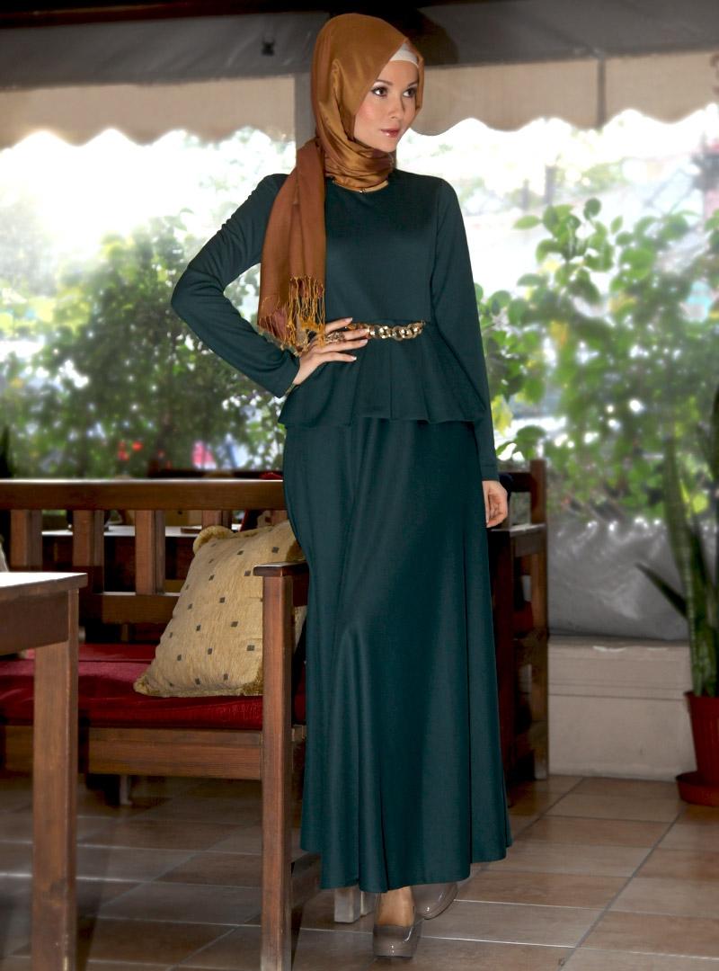 بالصور صور موضه , اجمل ملابس محجبات على الموضة 1448 2