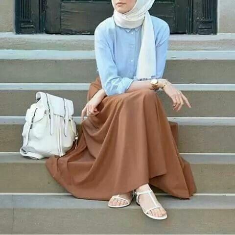 بالصور صور موضه , اجمل ملابس محجبات على الموضة 1448 5