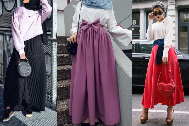 بالصور صور موضه , اجمل ملابس محجبات على الموضة 1448 9
