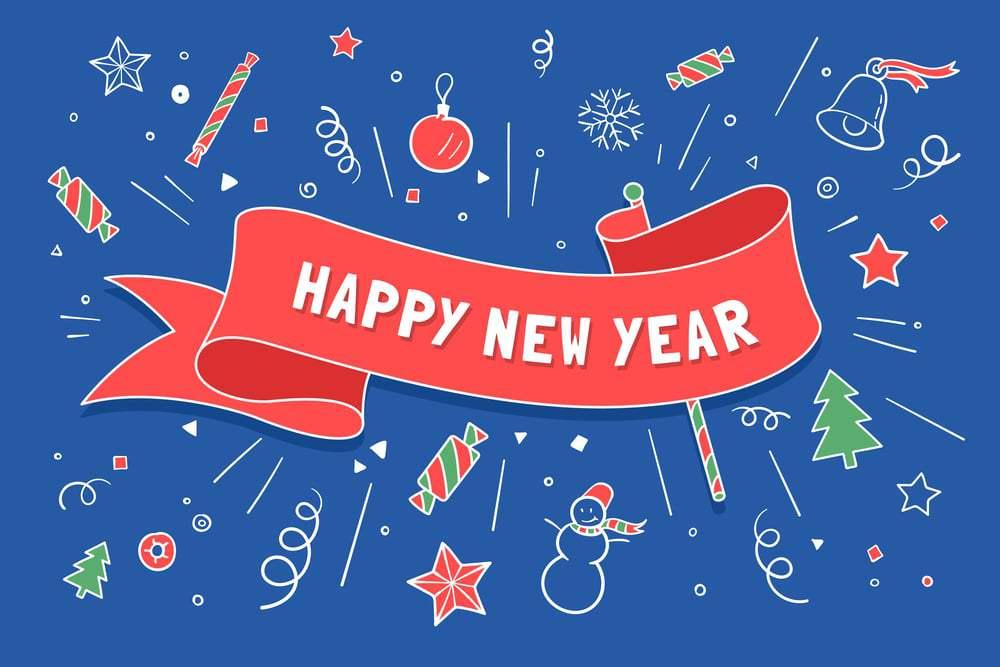 صورة صور عن العام الجديد , صور تهنئات بالسنة الجديدة 2019