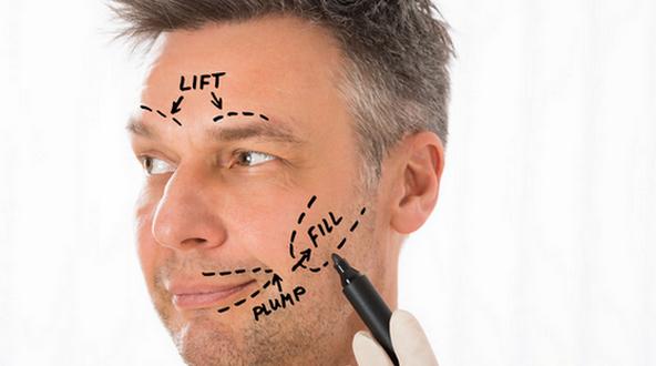 بالصور علاج نحافة الوجه عند الرجال , كيف ينحف الوجة عند الرجال 1525