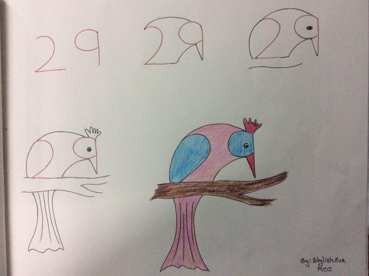 بالصور رسومات جميلة وسهلة , اجمل صور رسومات اطفال بالقلم الرصاص للتعليم 1544 6