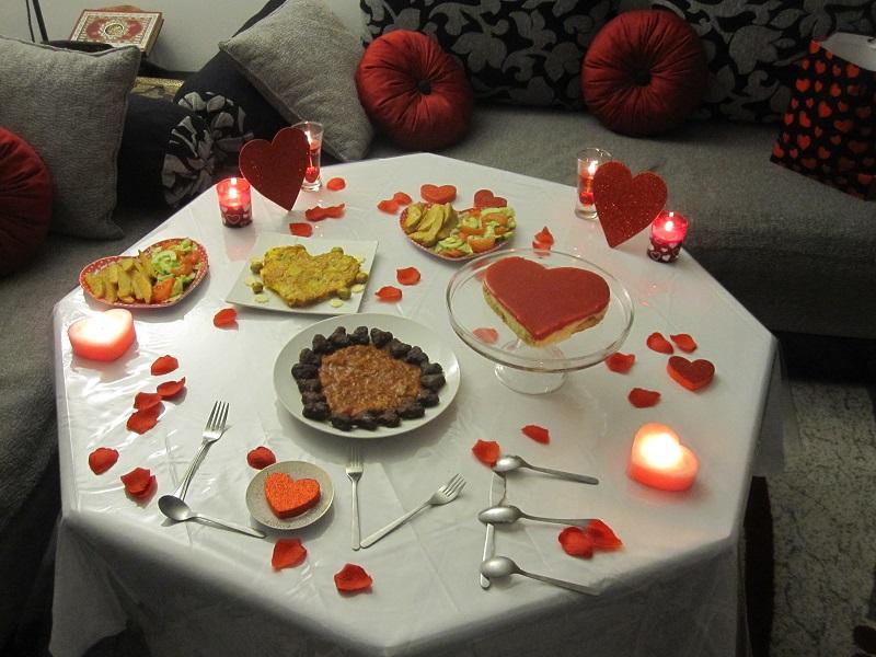 بالصور عشاء رومانسي , طريقة تحضير العشاء الرومانسي في مناسباتك الخاصة 1753 3