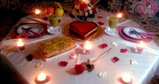 صوره عشاء رومانسي , طريقة تحضير العشاء الرومانسي في مناسباتك الخاصة