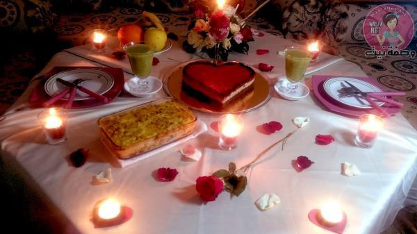 بالصور عشاء رومانسي , طريقة تحضير العشاء الرومانسي في مناسباتك الخاصة 1753