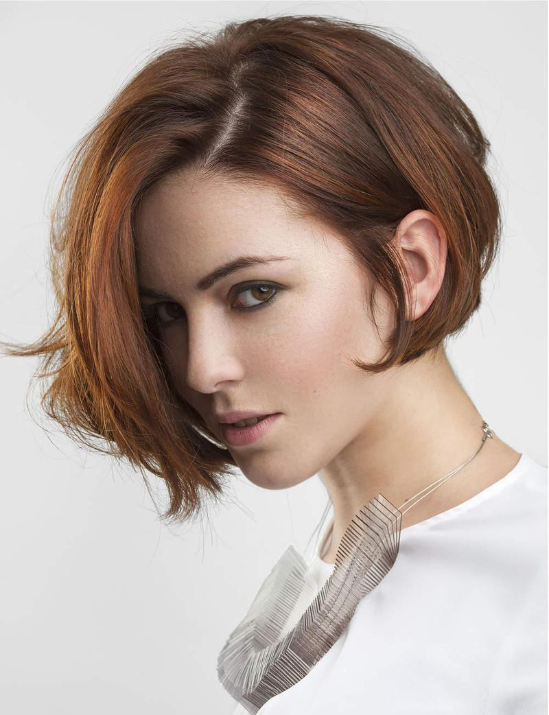 بالصور تسريحات شعر قصير , تسريحات شعر 3219 11