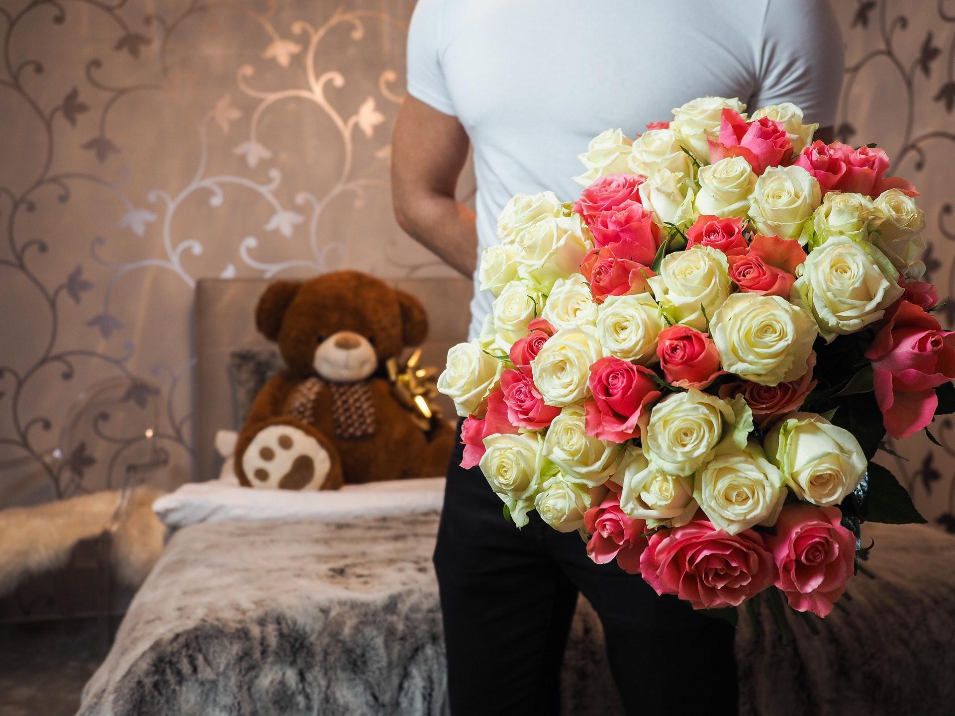 بالصور اجمل بوكيه ورد , اجمل الورود 2019
