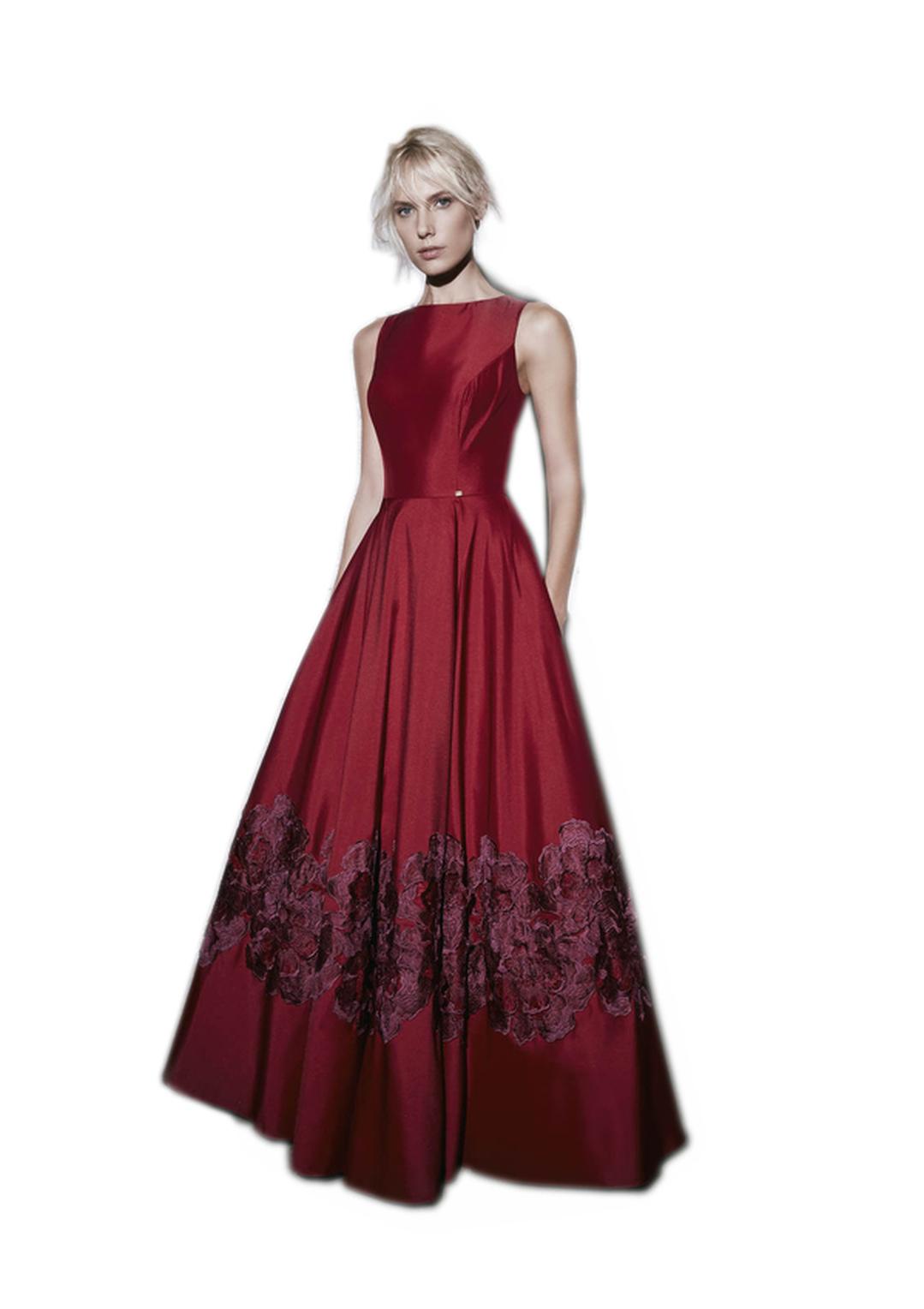 بالصور موديلات فساتين سهرة , موديلات حديثة الفساتين 3356 10
