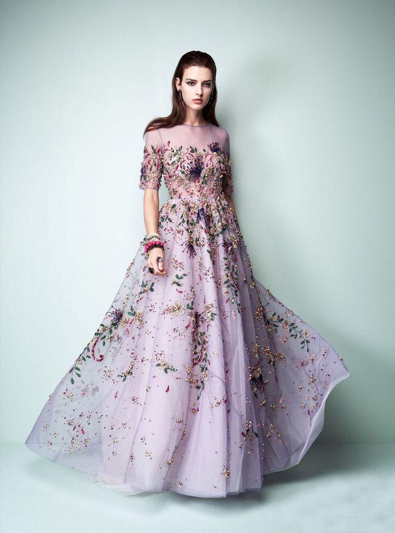 بالصور موديلات فساتين سهرة , موديلات حديثة الفساتين 3356 11