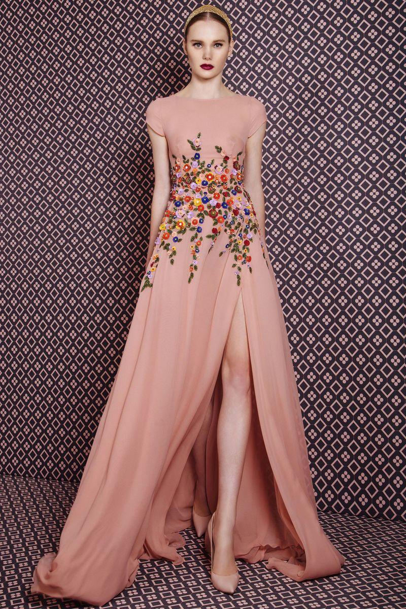 بالصور موديلات فساتين سهرة , موديلات حديثة الفساتين 3356 6