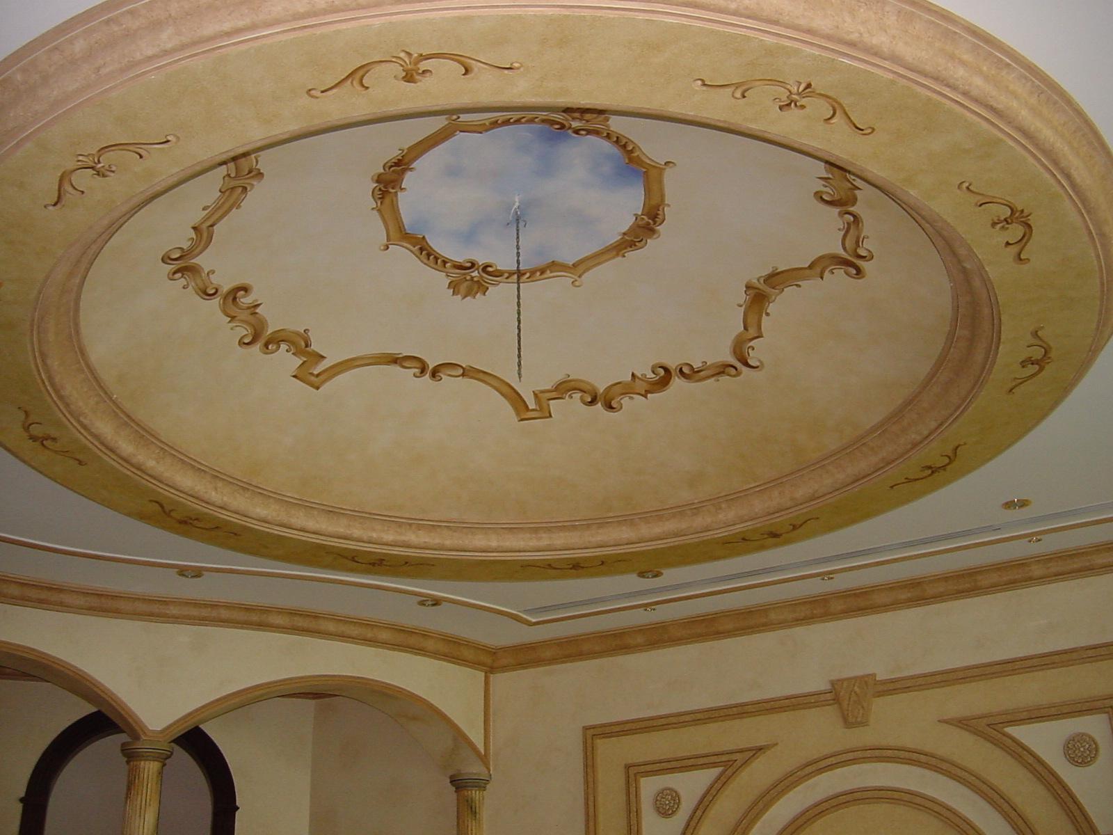بالصور ديكورات اسقف , اجمل ديكورات للاسقف 3433 4