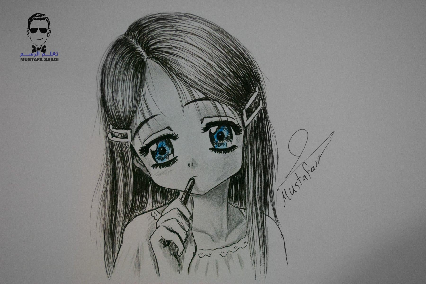 بالصور رسم انمي , اجمل صور لرسومات الانيمشن 3465 2