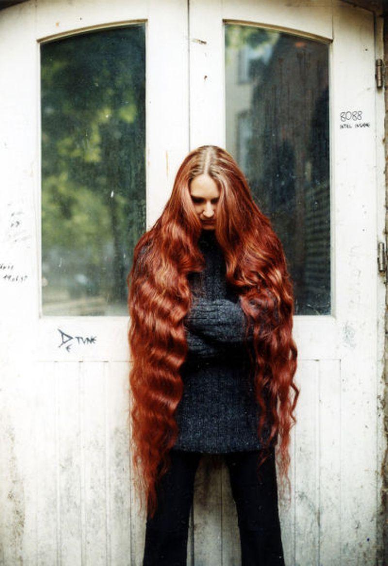 بالصور اطول شعر في العالم , شاهد اطول شعر في الدنيا 3512 1