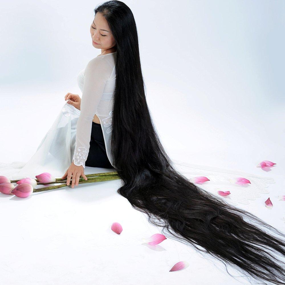 بالصور اطول شعر في العالم , شاهد اطول شعر في الدنيا 3512 4